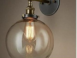ATC Retro Edison Industrial Style Round Glass