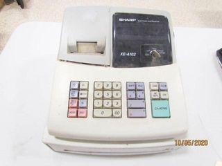 Sharp XE A102 cash register