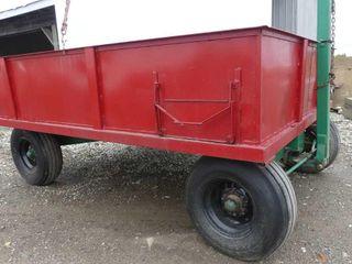 10ft x 8ft Steel Box on 10T Martin Wagon