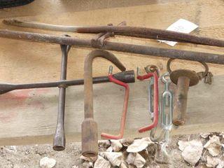 4 Way Wrench  Turnbuckles  Etc
