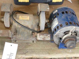 1 3hp Electric Motor and Mandrel
