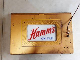 Vintage Hamm's Lighted Beer Sign