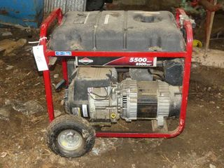 Briggs and Stratton 5500 Watt Gas Generator