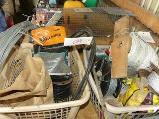lot of Electric Fence Supplies