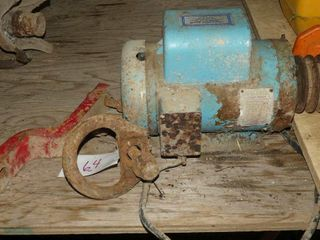 Hitch Parts and Electric Motor