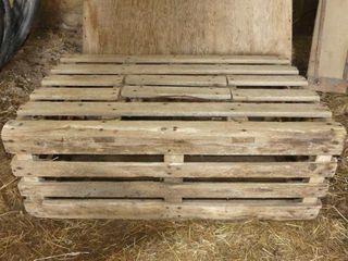 Wooden Chicken Crate