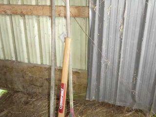 Troybilt Pick Axe  leaf Rake  Garden Rake