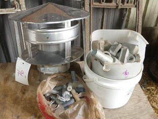 Chimney Cap and Assorted Fittings