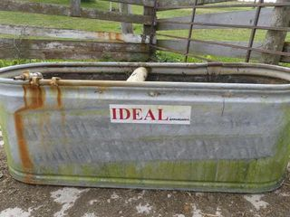 Ideal 5ft Galvanized Water Trough