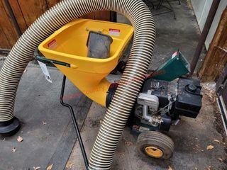 Yard Man 8 hp chipper shredder vacuum system