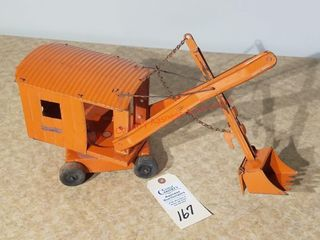 Structo orange steam shovel