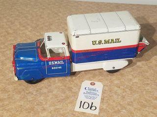 MAR US mail truck  622145 lic Plate 1 77 R
