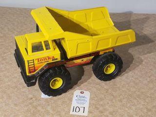 Tonka turbo diesel yellow dump truck