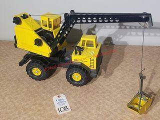 Tonka turbo diesel yellow crane