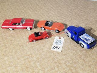 Die Cast 1964 red Chevy Impala SS 8701