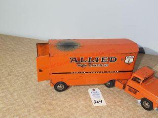 1950s Tonka Allied Van lines