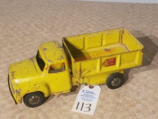 Buddy l Sand   Stone yellow dump truck