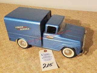 1958 blue Tonka service truck