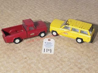 Tonka yellow Jeep Wagoneer