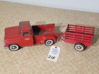 1957 Tonka red step side truck