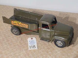 Buddy l US Army Open transport truck