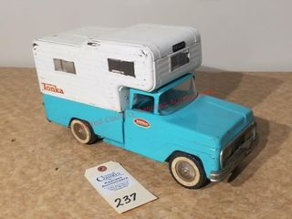 1958 turquoise Tonka pickup