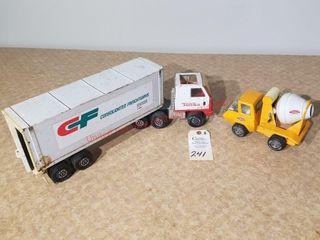 Small Tonka concrete truck