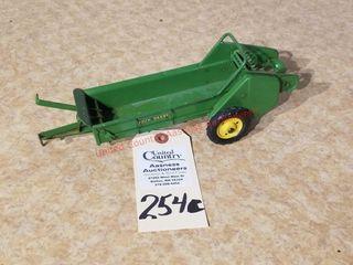 Vintage John Deere tractor manure spreader