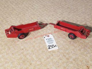 2 Vintage McCormick Deering Tractor