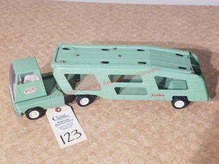 Tonka green car transport