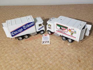 Chicago Tribune   Keebler freight van trucks