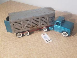 Vintage Structo livestock Hauler