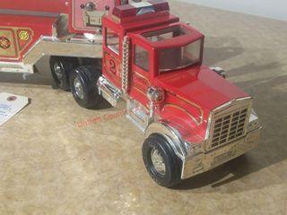 Tonka Semi Fire Dept ladder Truck