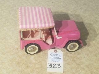 Tonka Vintage Pink Jeep
