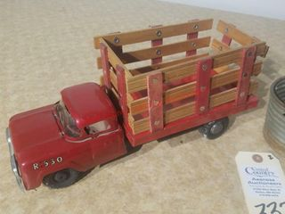 Vintage Structo Freight Hauler