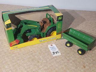 Ertl John Deere loader Tractor