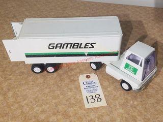 Mini Tonka Gambles semi truck