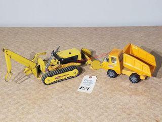 Mini Tonka dump truck