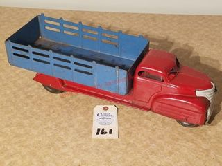 1939 Marx 20IJ red stake truck