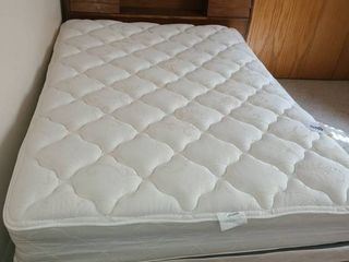 Full Size Bed  Head Board  Foot Board and Mattresses