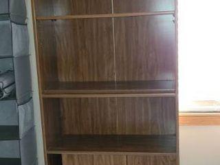 Book Shelf with Doors at bottom 72 x 29 x 12