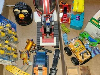 Toy Trucks 4 Wheelers  cars  planes and other items