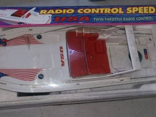 Toy  Radio Controlled Speed Boat