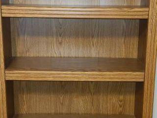 Book Shelf with 5 Shelves  71 x 31 x 12