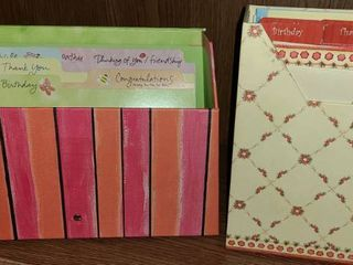 Card Organizers with Cards in one box
