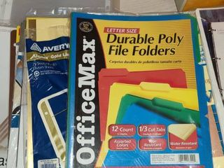 Clear Paper Protectors  File Folders and Dividers