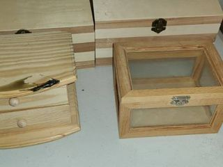 DIY  ARTS AND CRAFTS  Paint up these unfinished boxes  Fun for EVERYONE