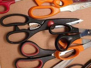 Scissors  11 pairs of Scissors