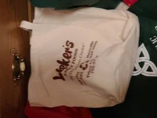 6 Reusable Grocery Bags and a Fanny Pack