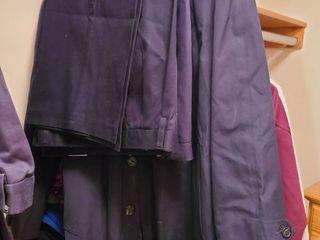 Mens Slacks 36 x 30 and Trench Coat london Fog  Size 42